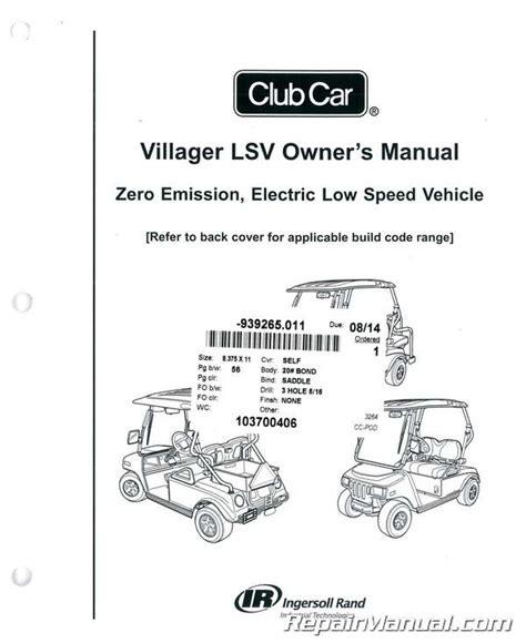 Club Car Villager Service Manual Torrent (ePUB/PDF)