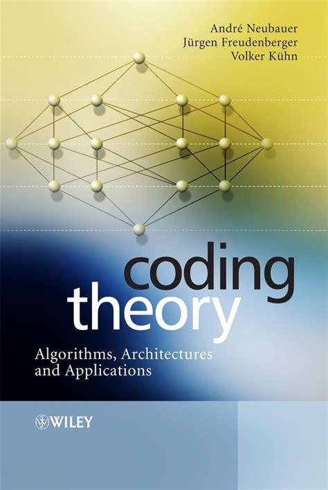 Coding Theory Kuhn Volker Neubauer Andre Freudenberger Jurgen (ePUB
