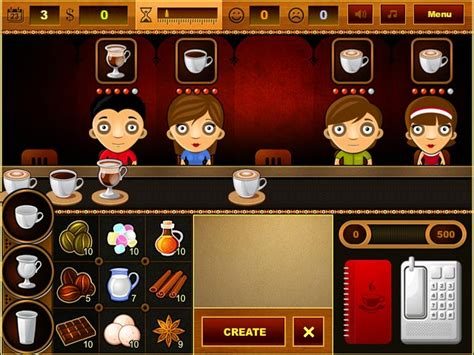 Coffee Bar Play Coffee Bar online at Agame Best Games