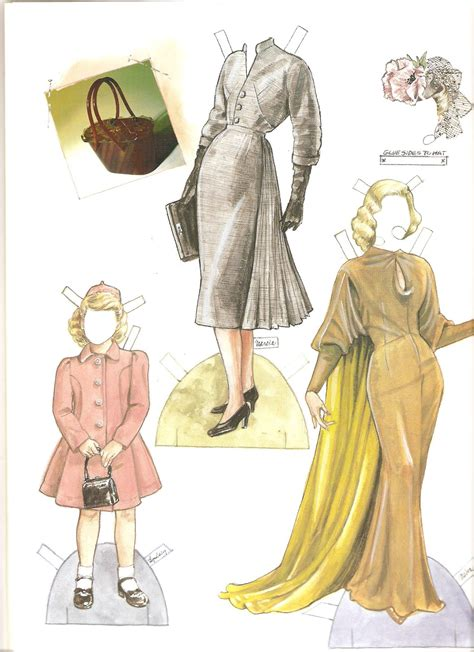 Collection By Design A Paper Doll History Of Costume 1750 1900