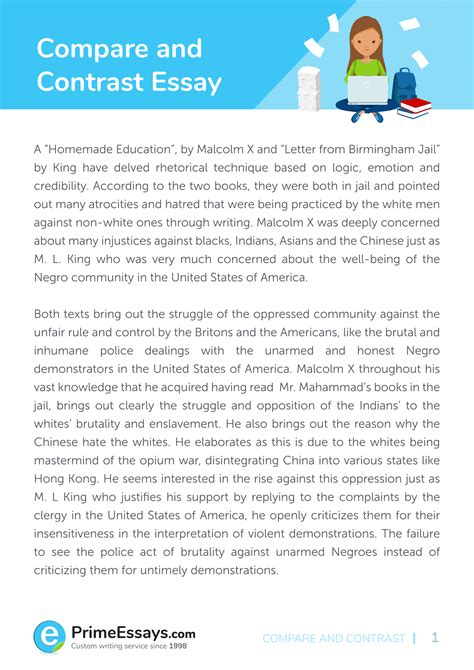 comparison and contrast essay ideas   dako group