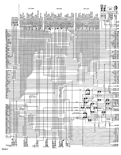 complete electrical wiring diagram 84 chevy nova