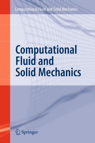 Computational Fluid And Solid Mechanics Bathe K J (ePUB/PDF) Free