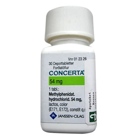 Concerta Methylphenidate Treats Attention Deficit Hyperactivity Disorder Adhd And Narcolepsy