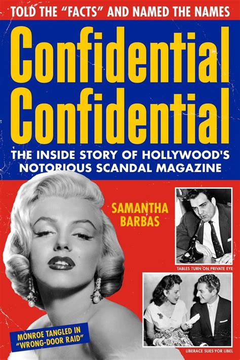 Confidential Confidential The Inside Story Of Hollywoods Notorious Scandal Magazine