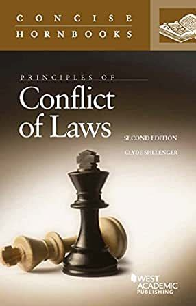 Conflict Of Laws Hornbooks