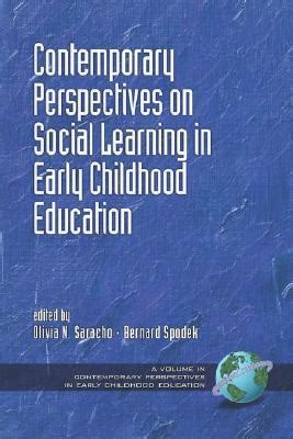 Contemporary Perspectives On Early Childhood Education Yell And