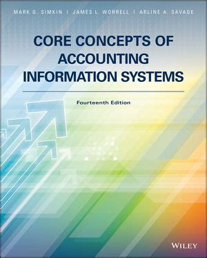 Core Concepts Of Accounting Information Systems 14th Edition