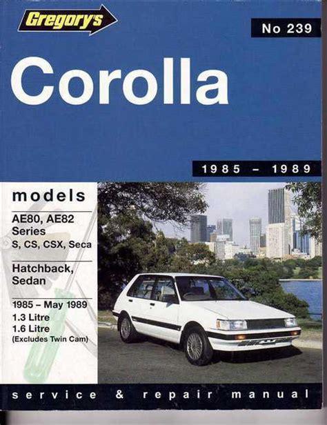 Corolla Ae80 Manuals (ePUB/PDF)