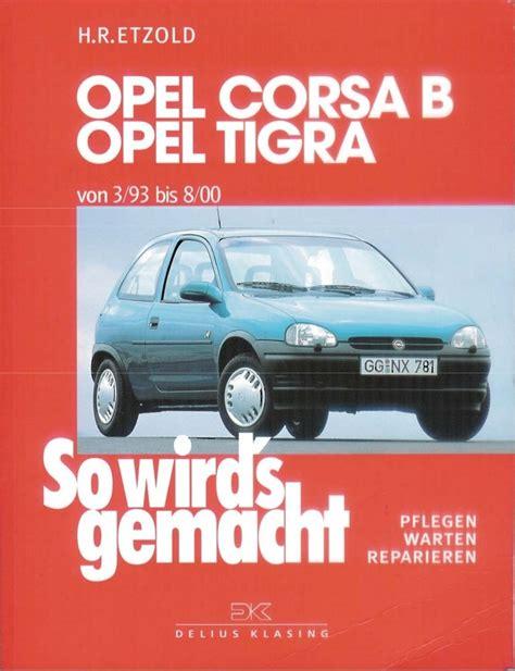 Corsa B Manual ((PDF & ePub))