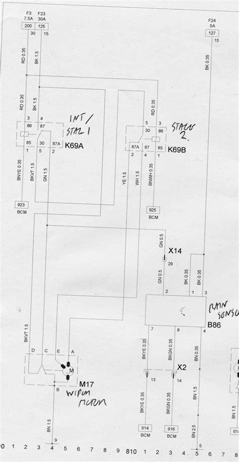corsa c wiper motor wiring diagram