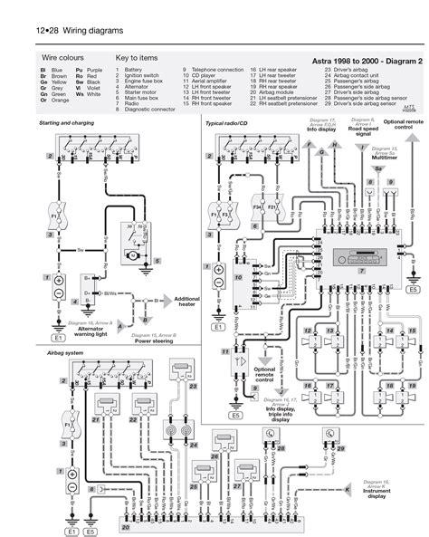 corsa d headlight wiring diagram