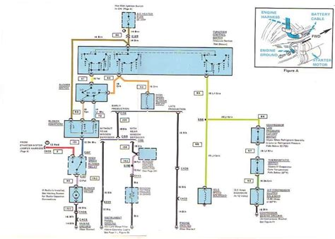 corvette ignition wiring diagram images ignition switch corvette c3 wiring harness diagrams from mid america