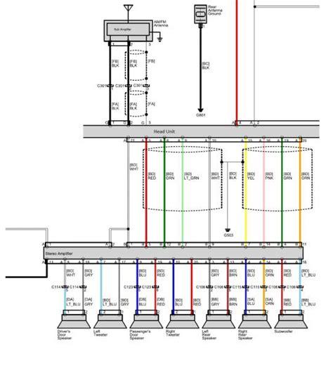 cr z audio wire diagram