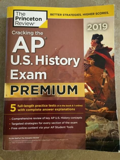 Cracking The AP US History Exam 2019 Premium Edition 5 Practice Tests Complete Content Review College Test Preparation