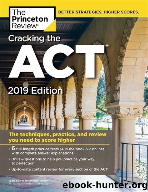 Cracking The Act With 6 Practice Tests 2019 Edition College Test Preparation