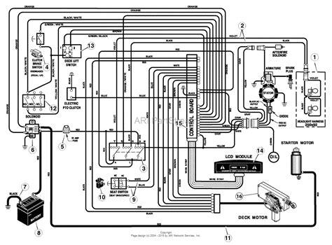 wiring diagram craftsman riding lawn mower images riding mower craftsman riding lawn mower wiring diagram craftsman