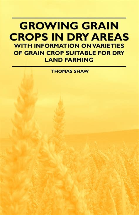 Crops That May Be Grown In Dry Areas With Information On Varieties Of Crops Suitable For Dry Land Farming