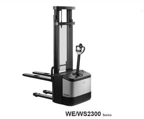 Crown Forklift We2300 Ws2300 Series Parts Manual 812689 006 0m ...