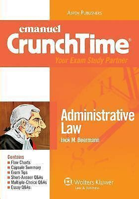 Crunchtime Administrative Law