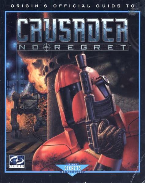 Crusader No Regret Manual Pdf (ePUB/PDF) Free