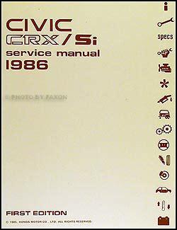 Crx Si Ebook Manual (ePUB/PDF) Free