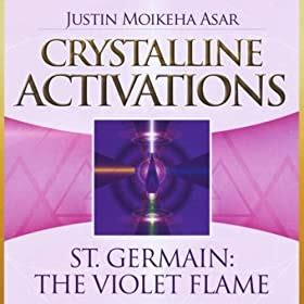 Crystalline Activations St Germain Cd The Violet Flame By