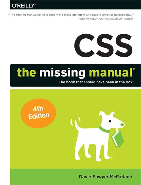 css the missing manual free