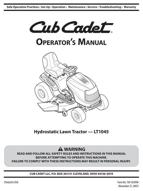 Cub Cadet Repower