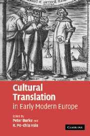 Cultural Translation In Early Modern Europe Burke Peter Hsia R Po ...