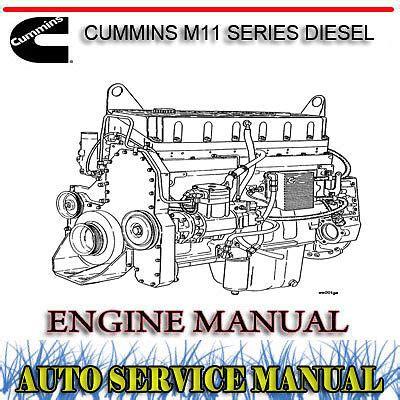 Cummins M11 Series Workshop Service Repair Manual (ePUB/PDF)