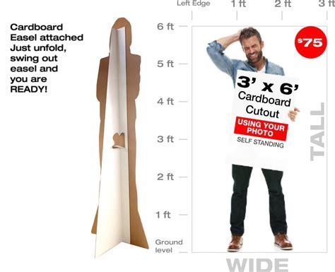 Custom Life Size Cardboard Cutouts