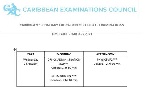 Cxc 2015 January Timetable And Regigtration Form (ePUB/PDF) Free