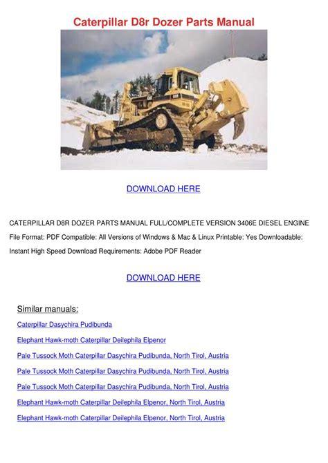 D8r Caterpillar Parts Manual (Free ePUB/PDF) on