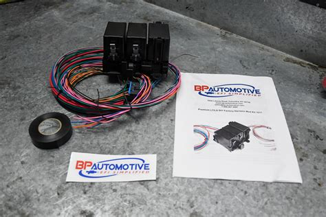 ez wiring circuit harness instructions images box paint diy ls1 harness mod instructions for dummies