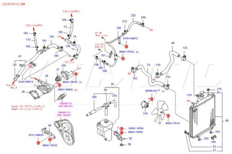 daihatsu engine cooling diagram
