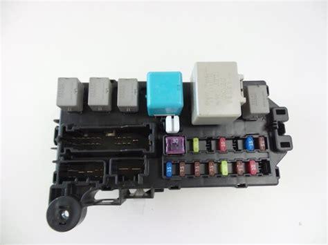 Daihatsu Sirion 2006 Fuse Box (PDF files/ePubs) on