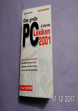 Das Grosse Pc Internet Lexikon 2006 (ePUB/PDF)