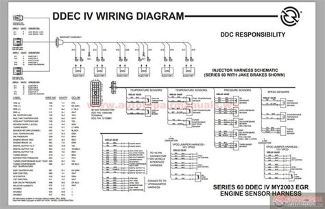 Detroit Wiring Diagram - Wiring Diagram Sheet on
