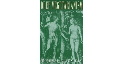Deep Vegetarianism America In Transition