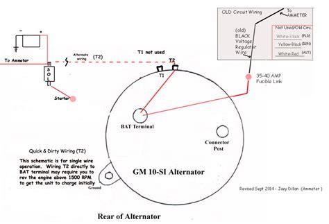 Delco Remy 10si Alternator Wiring Diagram