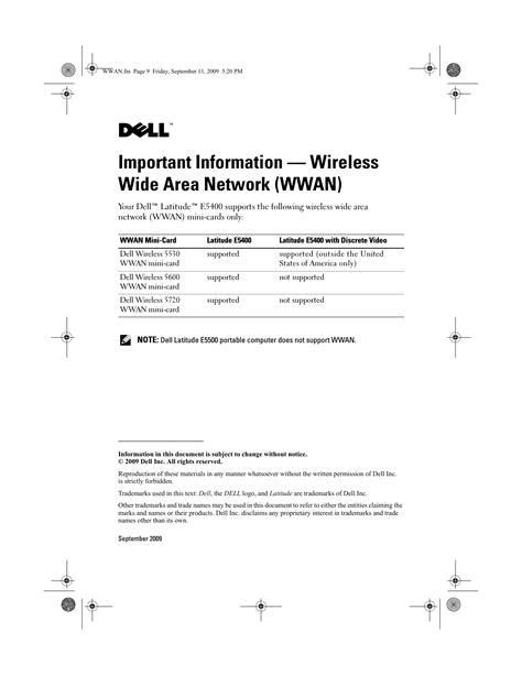 Dell Technical Manuals (ePUB/PDF) Free