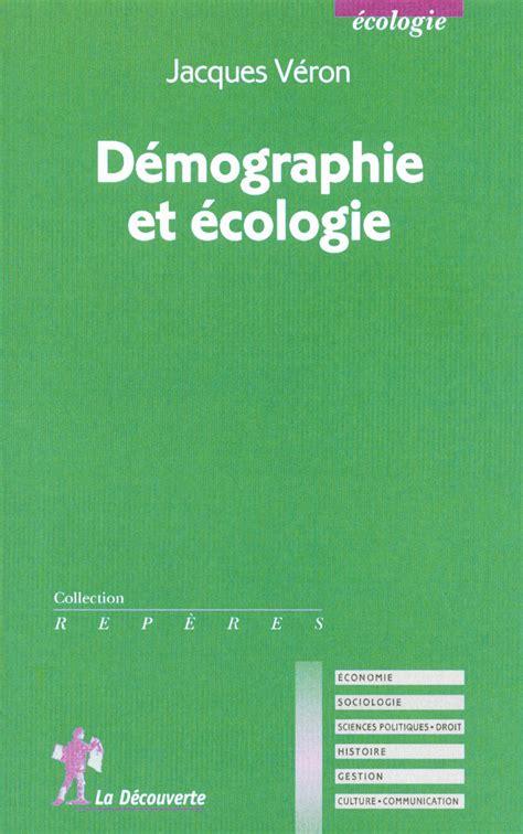 Demographie Et Ecologie (ePUB/PDF)