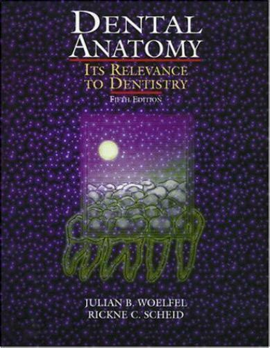 Dental Anatomy Its Relevance To Dentistry