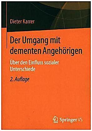 Der Umgang Mit Dementen Angehrigen Karrer Dieter (ePUB/PDF) Free