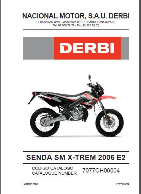 Derbi Parts Manual (ePUB/PDF) Free