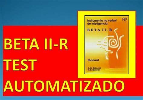 Descargar Manual Beta Ii R (ePUB/PDF)