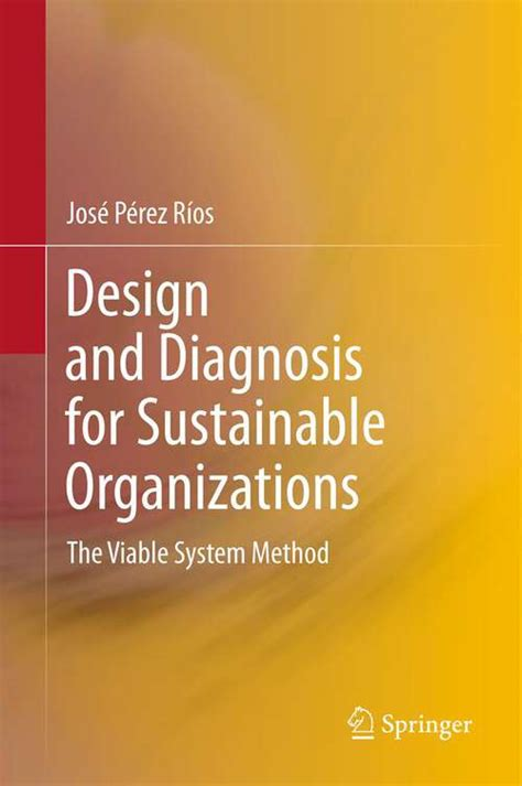 Design And Diagnosis For Sustainable Organizations The Viable System Method