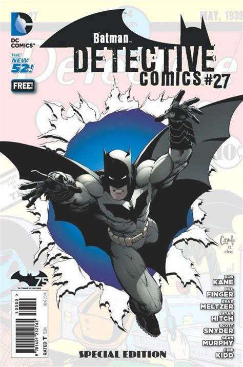Detective Comics 27 Special Edition Batman 75 Day Comic 2014 2014 1