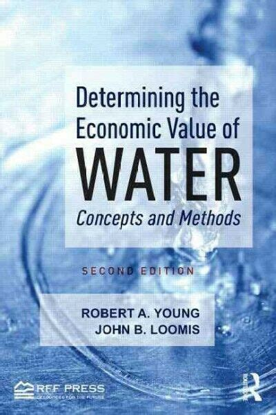 Determining The Economic Value Of Water Concepts And Methods